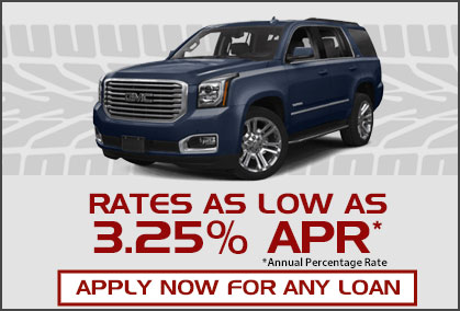 Car loan rates as low as 2.99%